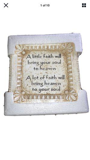 Faith Plaque for Sale in Wichita, KS