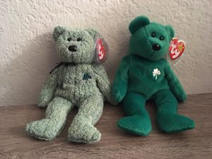 St. Patrick's Day Beanie Babies for Sale in Ontario, CA