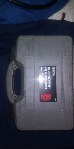 Matco tools bearing race&seal driver master set for Sale in Irving, TX