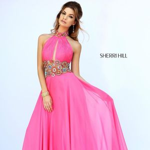 Sherri Hill #32225 - Size 2 Pink Detailed Gown (Quinceanera) Vestido Rosado for Sale in Hialeah, FL