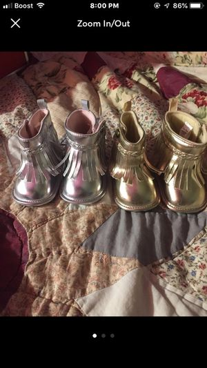 Baby girl tazzel boots for Sale in Yonkers, NY