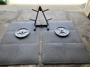 Exercise equipment Weights for Sale in Burbank, IL