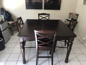 Wood kitchen table for Sale in Fullerton, CA