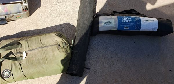 Camping and Fishing Equipment