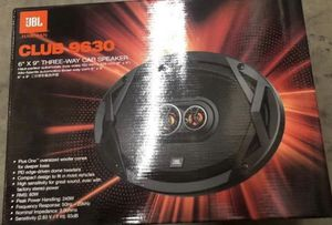 """New JBL Club9630 6X9"""" 3-Way Coaxial Speakers for Sale in Hawthorne, CA"""