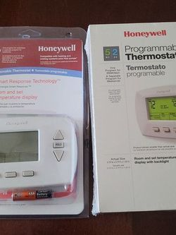 Honeywell RTH6350 D White 5-2 Programmable Thermostat(Lot of 2) for Sale in Fort Lauderdale,  FL