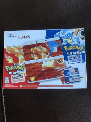 Pokemon Red and Blue Nintendo 3Ds New in box (CIB) for Sale in Saugus, MA