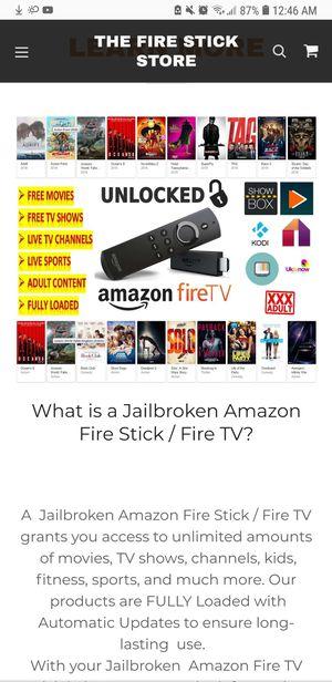 Fire TV stick Jailbroken for Sale in Denver, CO