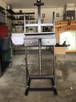 Wooden Easel with Drawers for Sale in Oviedo, FL