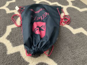 NEW BALANCE athletic gym bag Aerie Fit cinch sack NB drawstring pouch footwear F for Sale in Portland, OR