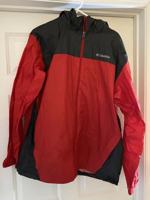 Columbia Windbreaker Red/grey size XL for Sale in Manassas, VA