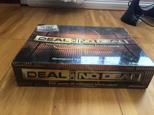 Deal or no deal board game for Sale in Shelby charter Township, MI