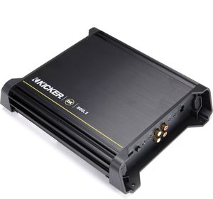 Kicker 11DX500.1 Mono subwoofer amplifier — 500 watts RMS x 1 at 2 ohms for Sale in Tacoma, WA