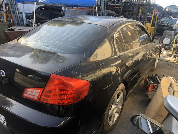 2006 Infiniti g35 parting out