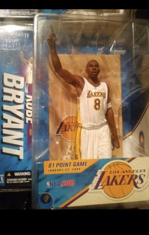 Kobe Bryant Action Figure Collectible for Sale in Newark, NJ
