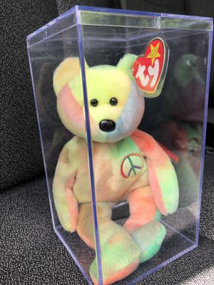 Original Ty Beanie Baby- Peace Bear EXCELLENT condition. for Sale in Alpharetta, GA