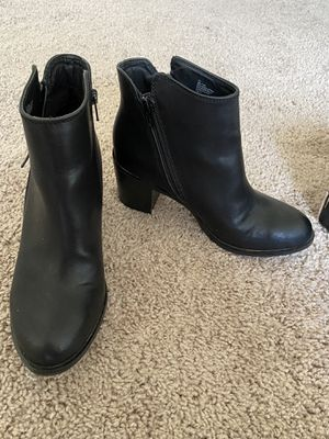 Ana Oscar Black boots for Sale in Abilene, TX