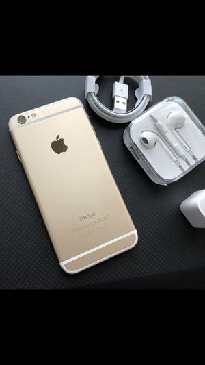 iPhone 6, 64gb- excellent condition, factory unlocked, clean IMEI for Sale in Springfield, VA