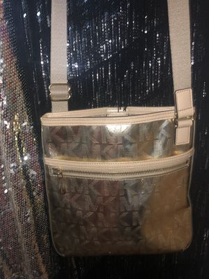 Michael Kors new without tags gold crossbody dress for Sale in La Porte, TX