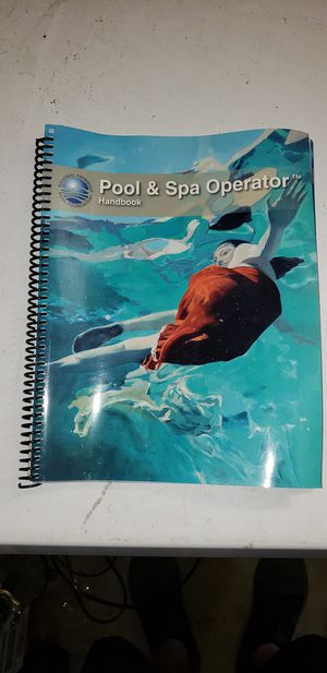 Brand new Pool & Spa Operator Handbook. for Sale in Arnold, MO