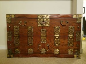 Korean antique chest, vintage, huge, tansu for Sale in Seattle, WA