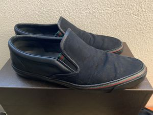Gucci men's shoes 13 for Sale in Rancho Cucamonga, CA