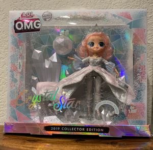 Lol Omg Crystal Queen Collector Doll for Sale in Liberty Hill, TX