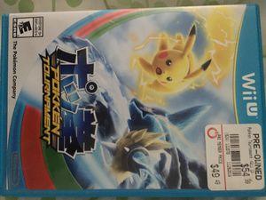 Nintendo Wii U Pokémon tournament! for Sale in Houston, TX