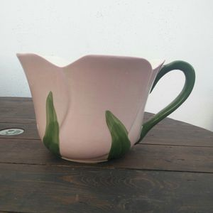 Medium Shaped Rose Teacup Style Flower Pot with Handle for Sale in Santa Ana, CA