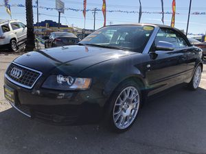 2006 Audi S4 Convertible Automatic V8 Extra Clean for Sale in West Modesto, CA