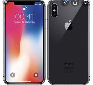Apple iPhone X 64 gigs for Sale in Black Diamond, WA