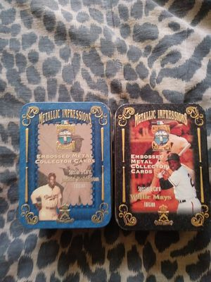Baseball cards 75$ each or both for 125$ for Sale in Miami, FL