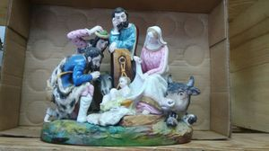 A Very Old Nativity German Porcelain for Sale in Miami, FL