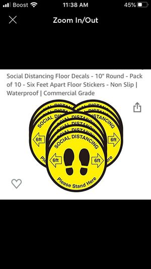 Social Distancing decals for Sale in Los Angeles, CA