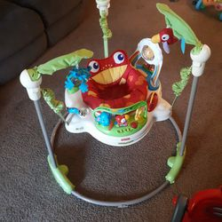 Fisher Price Rainforest Jumperoo for Sale in Dinuba,  CA