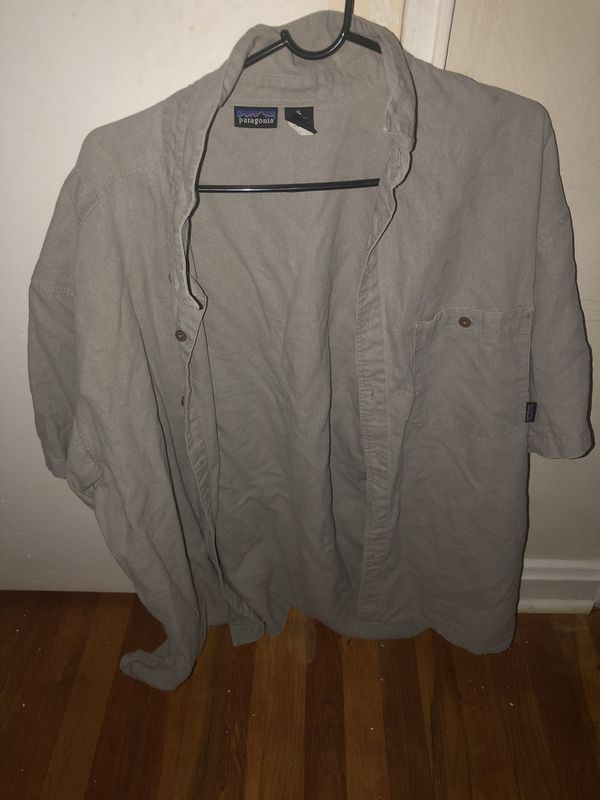Grey Patagonia button up