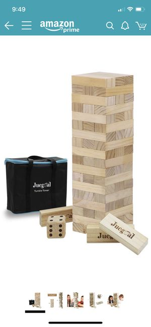 Jenga set! for Sale in Saratoga, CA