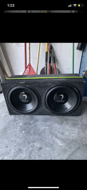 Diamond 15s subs for Sale in Tampa, FL
