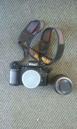 Nikon 35mm camera +sigma lens 5 for Sale in Atlanta, GA
