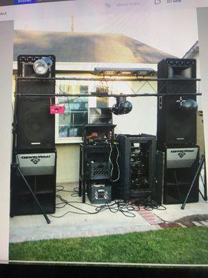 FULL EQUIPMENT DJ for Sale in Ontario, CA
