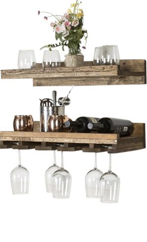 Wine glass shelves (selling together) for Sale in YPG, AZ