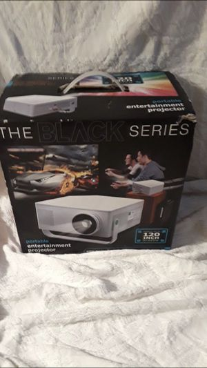 The Black Series projector for Sale in Albany, NY