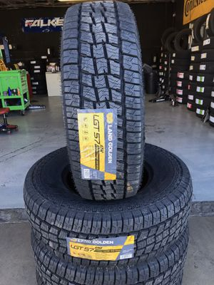 BRAND NEW SET OF ALL TERRAIN TIRES LT265/75/16 for Sale in Rialto, CA