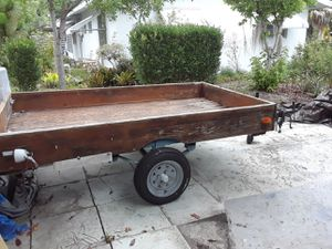 Dump trailer -8 ft × 5ft for Sale in Hillsboro Beach, FL