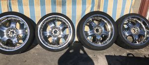 """22"""" chrome rims for Sale in Kissimmee, FL"""