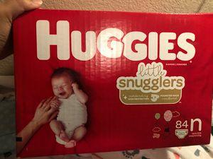 Huggies 42 newborn diapers for Sale in Mission Viejo, CA