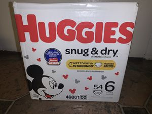 Huggies snug and dry for Sale in Sappington, MO
