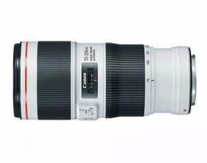 Canon EF 70-200mm f/4L is II USM Lens for Canon Digital SLR Cameras for Sale in Sugar Land, TX