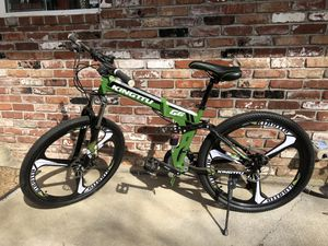 Folding mountain bike for Sale in Milwaukie, OR