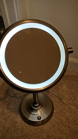 Vanity mirror with LED light for Sale in Irvine, CA